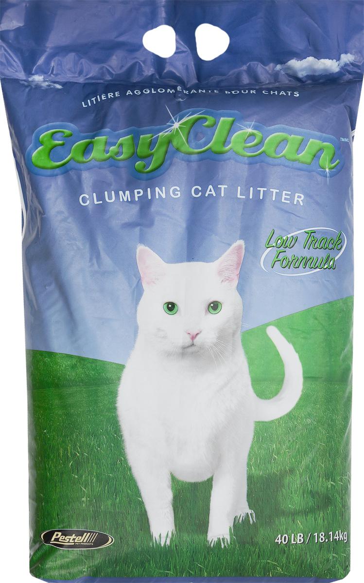 """Наполнитель для кошачьих туалетов """"Easy Clean"""", комкующийся, для длинношерстных кошек, 18,14 кг 20432"""