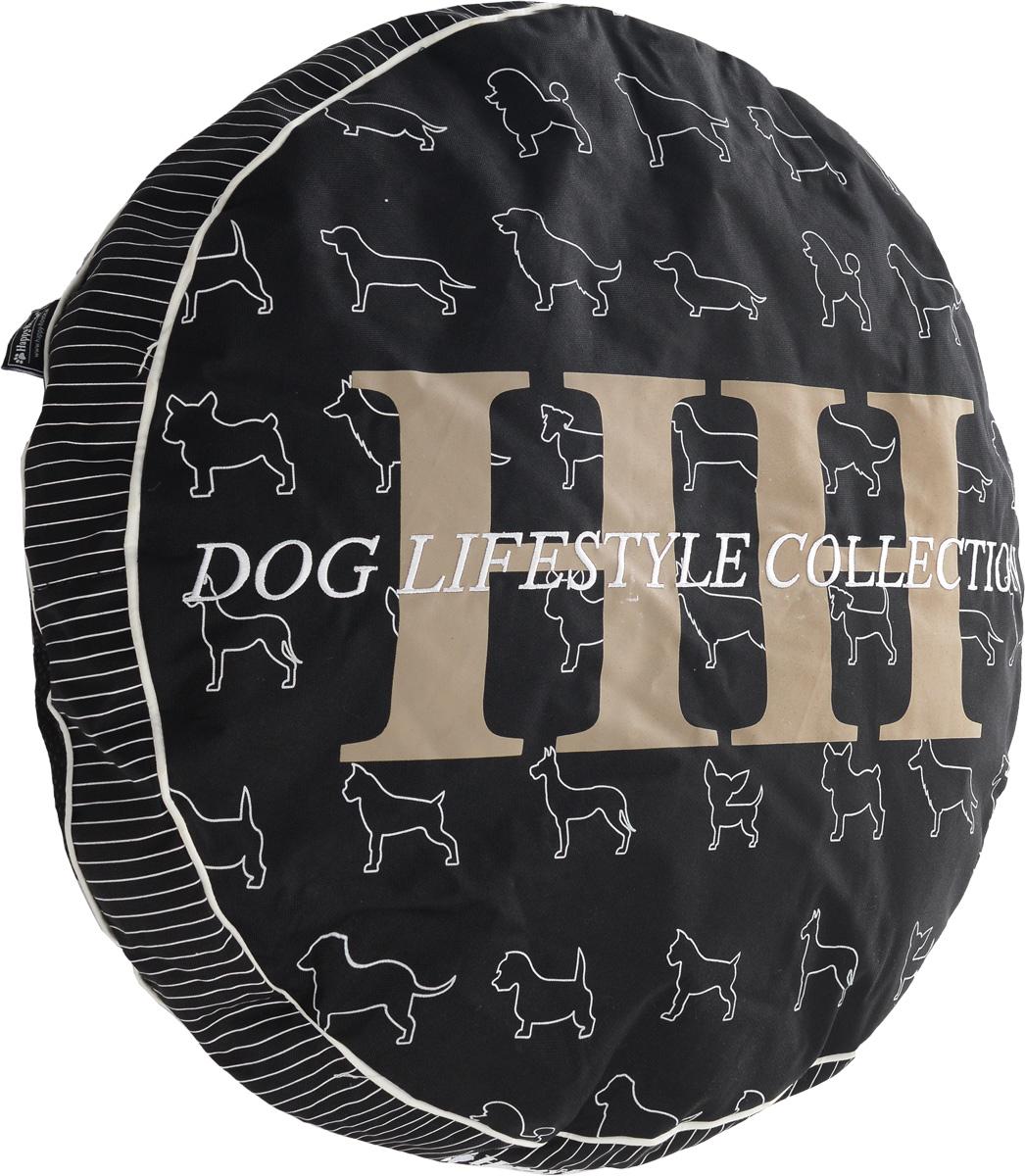 Лежак для животных Happy House Dog Lifestyle, 70 х 70 х 10 см8144Лежак Happy House Dog Lifestyle прекрасно подойдет для отдыха вашего домашнего питомца. Предназначен для кошек, а также собак мелких и средних пород. Чехол лежака выполнен из полиэстера и закрывается на застежку-молнию, наполнитель - из холлофайбера. Комфортный и уютный лежак обязательно понравится вашему питомцу, животное сможет там отдохнуть и выспаться.