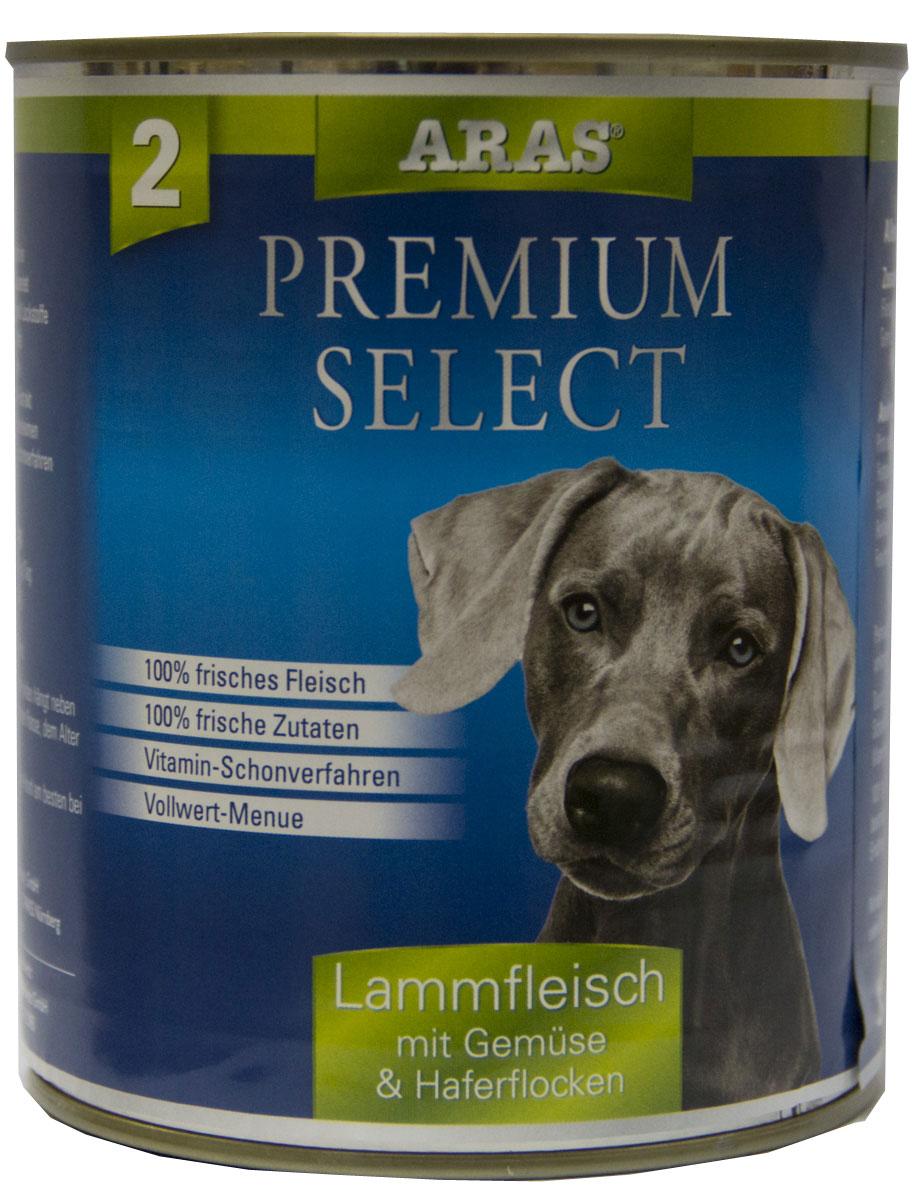 Консервы для собак Aras Premium Select, с бараниной, овощами и овсяными хлопьями, 820 г0120710Консервы для собак Aras Premium Select - повседневный консервированный корм для собак всех пород и всех возрастов. Бережная обработка отборных ингредиентов высочайшего качества, используемых при изготовлении корма, обеспечивает вашего питомца здоровым и сбалансированным питанием. Благодаря содержанию высококачественного белка, полученного из свежего мяса, вашему питомцу требуется меньшее количества корма, чем кормов других марок. Особенности корма: - 80% содержание мяса- Изготовлен из 100% свежего мяса, пригодного в пищу человеку- Без химических красителей и усилителей вкуса- Без консервантов- Без химических добавок- Из 100% свежих ингредиентов- С экстрактом масла зародышей пшеницы холодного отжима- Сохранение натуральных витаминов в процессе изготовления- Гарантия свежестиСостав: свежее мясо баранины и субпродукты 92%, овощи (морковь, лук-порей) 4%, овсяные хлопья 3%, экстракт зародышей пшеницы холодного отжима 1%. Пищевая ценность: белки 12,7%, жиры 6,3%, зола 1,8%, клетчатка 0,7%, влажность 77,7%. Товар сертифицирован.