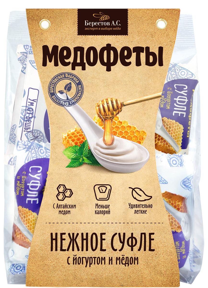Берестов А.С. Берестов Медофеты суфле с йогуртом и медом, 150 г о0000007469