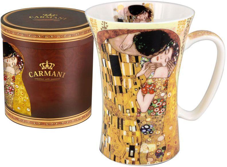 Кружка Carmani Поцелуй, 600 млVT-1520(SR)Кружка Carmani Поцелуй, изготовленная из высококачественной костяного фарфора, сочетает в себе элегантный дизайн с максимальной функциональностью. Изделие оформлено ярким изображением и имеет изысканный внешний вид. Такая кружка станет оригинальным подарком для вас и ваших близких.
