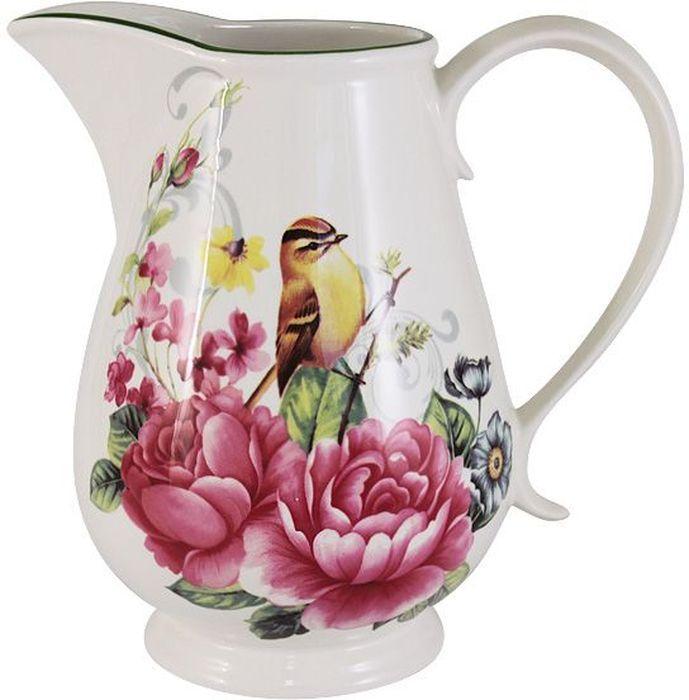 Кувшин Imari Цветы и птицы, 1,0 л. IM15020-A2210ALIM15020-A2210ALКувшин 1,0л Цветы и птицы IMARI производит широкий ассортимент посуды из высококачественной керамики, основным ингредиентом которой является твердый доломит, поэтому все керамические изделия IMARI - легкие, белоснежные, прочные и устойчивы к высоким температурам. Высокое качество изделий достигается не только благодаря использованию особого сырья и новейших технологий и оборудования при изготовлении посуды, но также благодаря строгому контролю на всех этапах производственного процесса на фабрике в Китае. Нанесение сверкающей глазури, не содержащей свинца, придает изделиям IMARI превосходный блеск и особую прочность. Высокое качество исходного сырья и глазури позволяют мыть изделия IMARI в посудомоечных машинах.