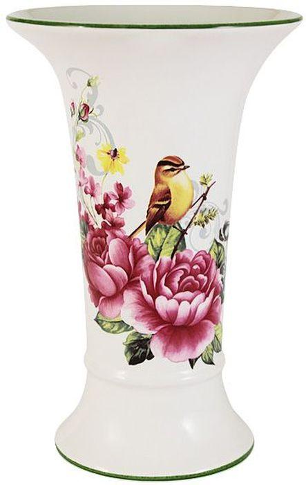 Ваза Imari Цветы и птицы, высота 21,5 смIM65078-A2210ALЭлегантная ваза Imari Цветы и птицы выполнена из высококачественной керамики и оформлена ярким рисунком. Она придется по вкусу и ценителям классики, и тем, кто предпочитает утонченность и изящность. Вы можете поставить вазу в любом месте, где она будет удачно смотреться, и радовать глаз. Такая ваза подойдет и для цветов, и для декора интерьера. Кроме того - это отличный вариант подарка для ваших близких и друзей. Высота вазы: 21,5 см.