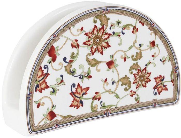 Салфетница Imari КардиналIM65080-A194/NALСалфетница Imari Кардинал выполнена из высококачественной керамики и украшена ярким рисунком. Салфетница идеально подойдет для украшения стола и станет отличным подарком к любому празднику. Элегантный дизайн салфетницы придется по вкусу и ценителям классики, и тем, кто предпочитает современный стиль.