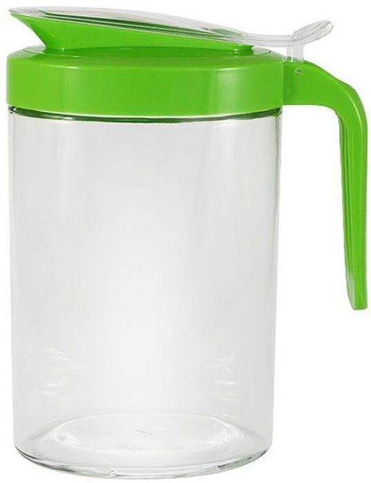 Кувшин SinoGlass, 1 л. SI-66994002-ALSI-66994002-ALКувшин SinoGlass изготовлен из прозрачного стекла и снабжен пластиковой крышкой и ручкой. При нажатии на кнопку на ручке крышка легко открывается. Кувшин идеально подойдет для воды, сока, молока и других напитков. Прозрачные стенки позволяют видеть количество содержимого. Такой функциональный кувшин станет незаменимым аксессуаром на любой кухне. Он удобный, практичный в использовании, легко моется.