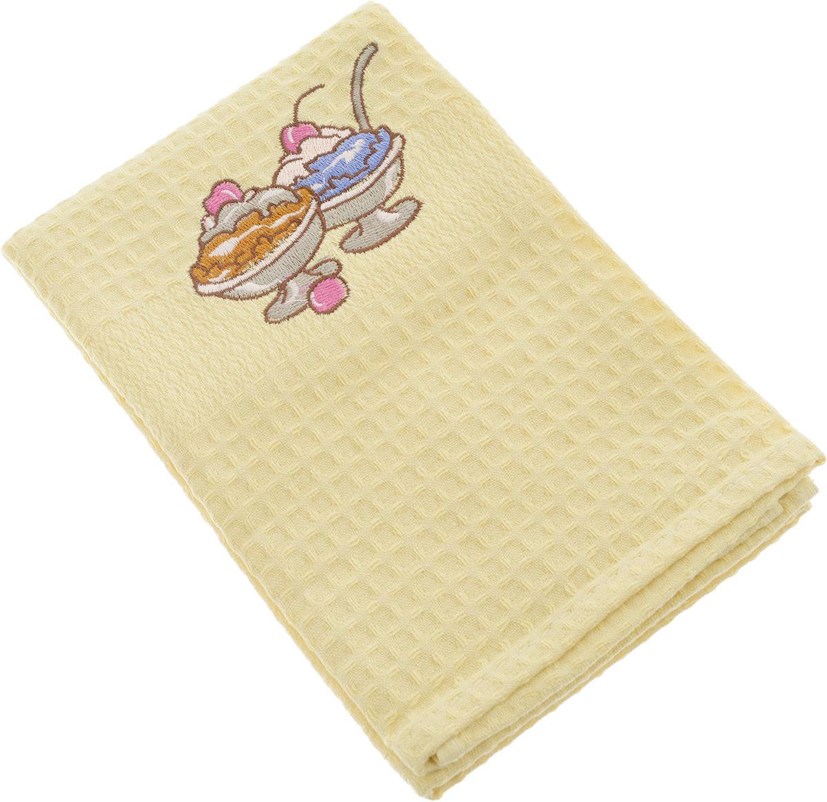 Полотенце кухонное Soavita, 40 х 60 см. 4880548805Кухонное полотенце Soavita выполнено из 100% хлопка. Оно отлично впитывает влагу, быстро сохнет, сохраняет яркость цвета и не теряет форму даже после многократных стирок. Изделие предназначено для использования на кухне и в столовой. Такое полотенце станет отличным вариантом для практичной и современной хозяйки.