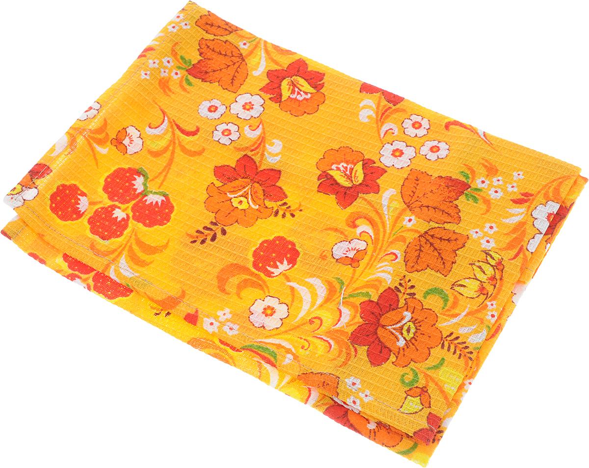 Полотенце кухонное Roko Цветы, 60 х 30 см531-401Кухонное полотенце Roko Цветы, выполненное из 100% хлопка, оформлено оригинальным принтом. Изделие предназначено для использования на кухне и в столовой. Оно отлично впитывает влагу, быстро сохнет, сохраняет яркость цвета и не теряет форму даже после многократных стирок. Такое полотенце станет отличным вариантом для практичной и современной хозяйки.Рекомендуется стирка при температуре 40°C.