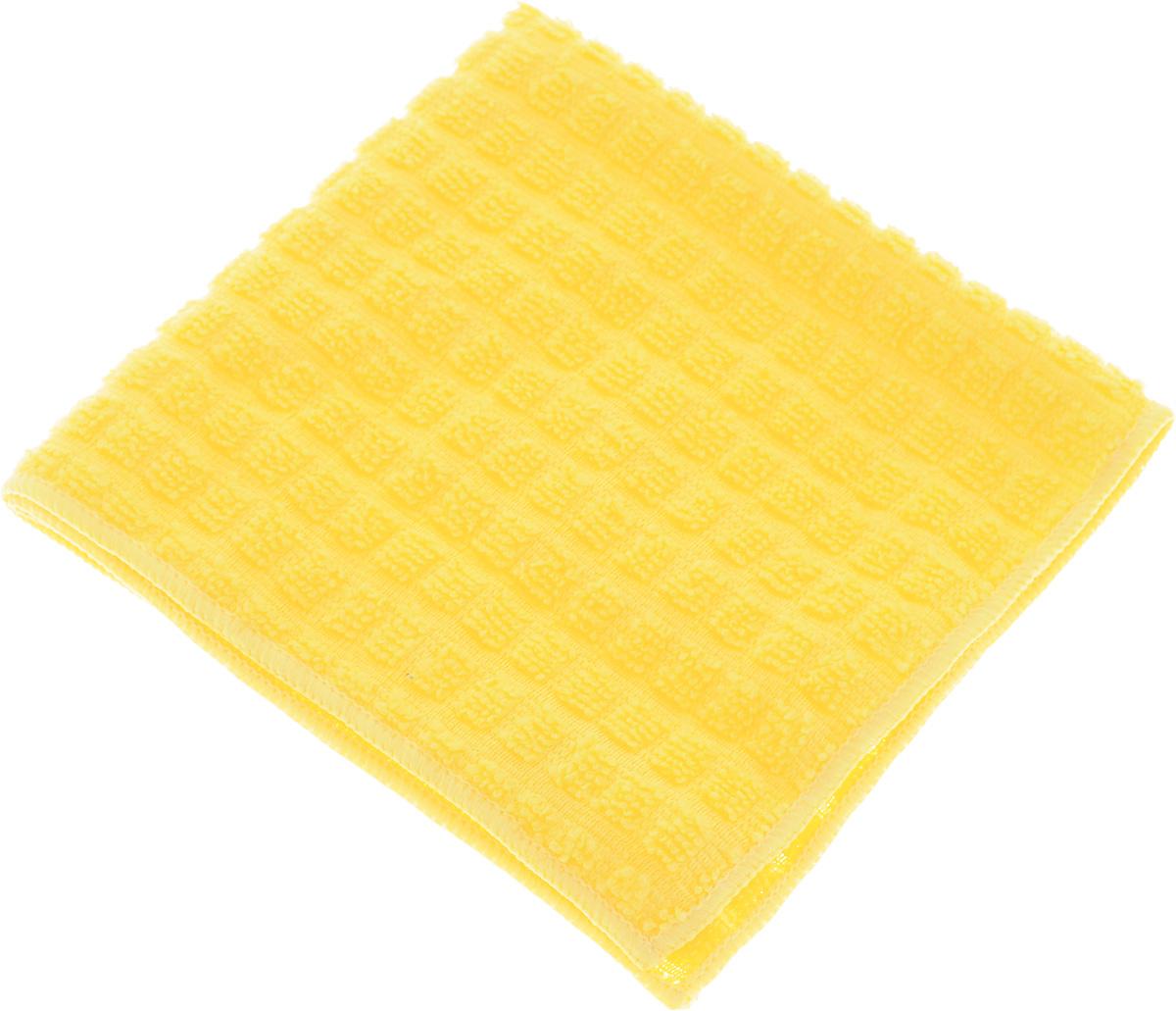 Салфетка Sol Crystal, из микрофибры, быстросохнущая, цвет: желтый, 30 x 30 см20003/20016_желтыйСалфетка Sol Crystal выполнена из микрофибры для деликатной чистки и полировки лакированных, глянцевых и хромированных поверхностей, а также стекол и зеркал. Салфетку можно эффективно применять как во влажном, так и в сухом виде. Специальное плетение ворса обеспечивает быстрое высыхание салфетки. Можно применять различные моющие средства. Не оставляет разводов и ворсинок. Можно стирать вручную или в стиральной машине с мягким моющим средством без использования кондиционера и отбеливателя, при температуре не выше 95°С. Запрещается кипячение и глажка. Рекомендована бережная сушка.