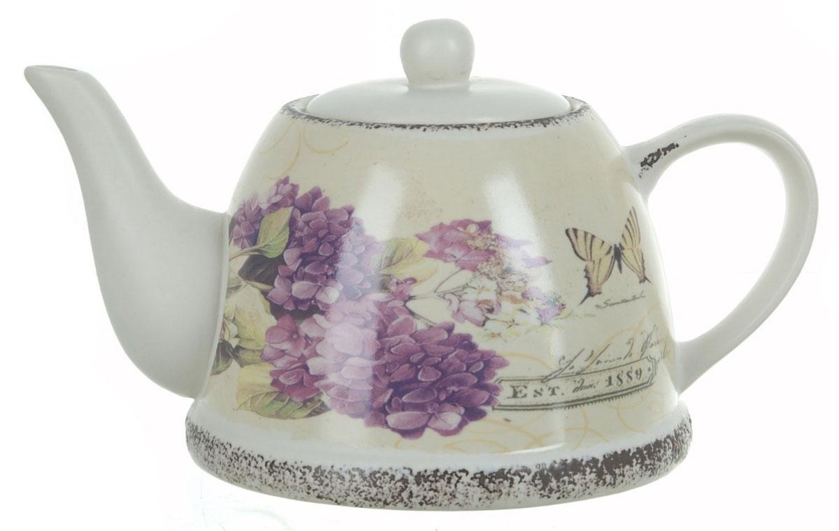 Чайник заварочный ENS Group Гортензия, 1 лCM000001328Заварочный чайник Гортензия, изготовленный из высококачественной керамики, прекрасно впишется в интерьер вашей кухни и станет достойным дополнением к кухонному инвентарю. Изделие снабжено эргономичной крышкой и удобной ручкой. Такой чайник не только украсит ваш кухонный стол и подчеркнет прекрасный вкус хозяйки, но и станет отличным подарком.Можно мыть в посудомоечной машине.