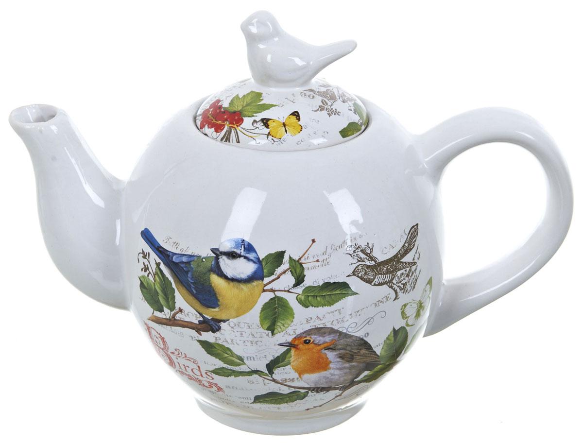 Чайник ENS Group Birds, 1050 мл. L2430742L2430742Заварочный чайник Birds, изготовленный из высококачественной керамики, прекрасно впишется в интерьер вашей кухни и станет достойным дополнением к кухонному инвентарю. Изделие снабжено эргономичной крышкой и удобной ручкой. Такой чайник не только украсит ваш кухонный стол и подчеркнет прекрасный вкус хозяйки, но и станет отличным подарком