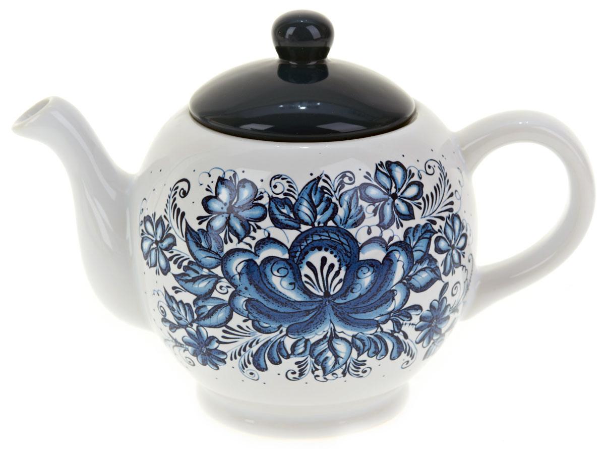 Чайник заварочный ENS Group Орнамент, 950 млL2520337Заварочный чайник Орнамент, изготовленный из высококачественной керамики, прекрасно впишется в интерьер вашей кухни и станет достойным дополнением к кухонному инвентарю. Изделие снабжено эргономичной крышкой и удобной ручкой. Такой чайник не только украсит ваш кухонный стол и подчеркнет прекрасный вкус хозяйки, но и станет отличным подарком. Можно мыть в посудомоечной машине.