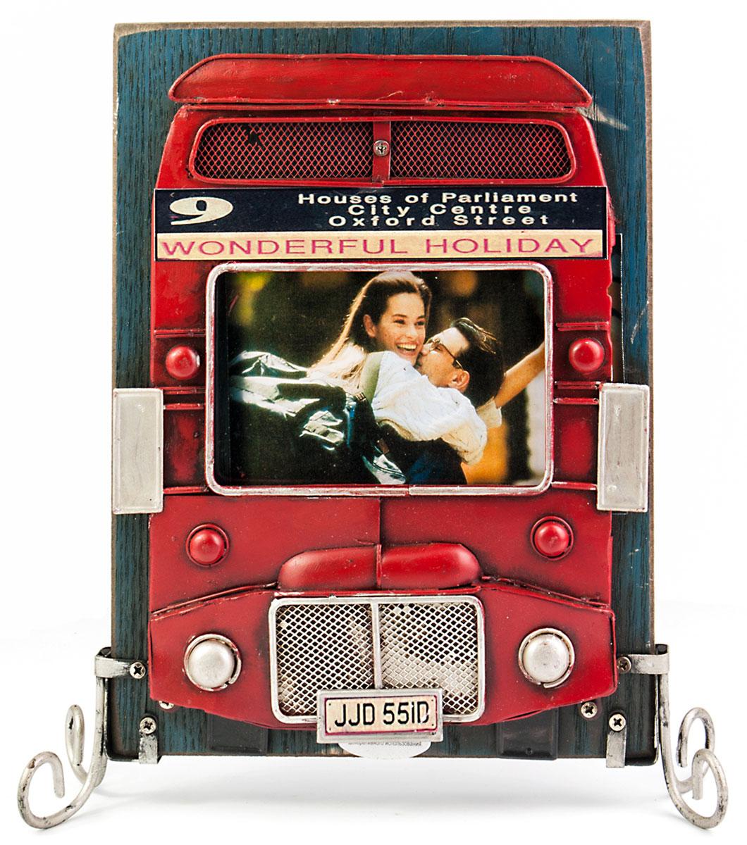 Фоторамка Platinum Лондонский автобус, двухстороняя. 1510F-3851510F-385