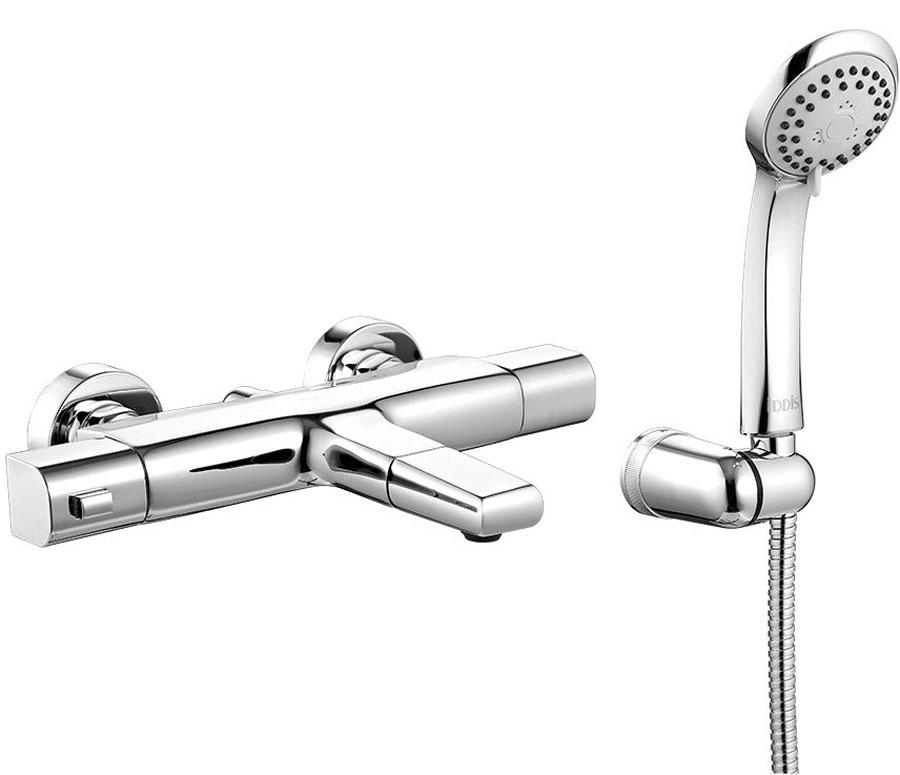 Смеситель для ванны Iddis Uniterm, с термостатом, цвет: хром. UNISB00i74UNISB00i74Смеситель с термостатом – современный продукт, привносящий максимум комфорта в привычную процедуру принятия душа. Он позволяет сэкономить время на настройке нужной температуры воды при каждом включении, при этом полностью защищает от ожогов и прочих неожиданностей, связанных с перепадами давления или температуры воды в сети. Традиционно в России горячая вода подключается справа, а холодная – слева. По европейским же нормам – наоборот, слева – горячая вода, справа – холодная. Не все европейские производители учитывают эту особенность при поставке термостатических смесителей на российский рынок, вследствие чего у потребителя могут возникать проблемы при подключении такого смесителя (при несоблюдении полярности «горячая – холодная вода» термостат просто не работает). При этом далеко не каждый потребитель знает порядок расположения подключений ХВС/ГВС в своем доме. Универсальный термостат позволяет решить эту проблему – благодаря симметрии корпуса смесителя, а также поворотному...