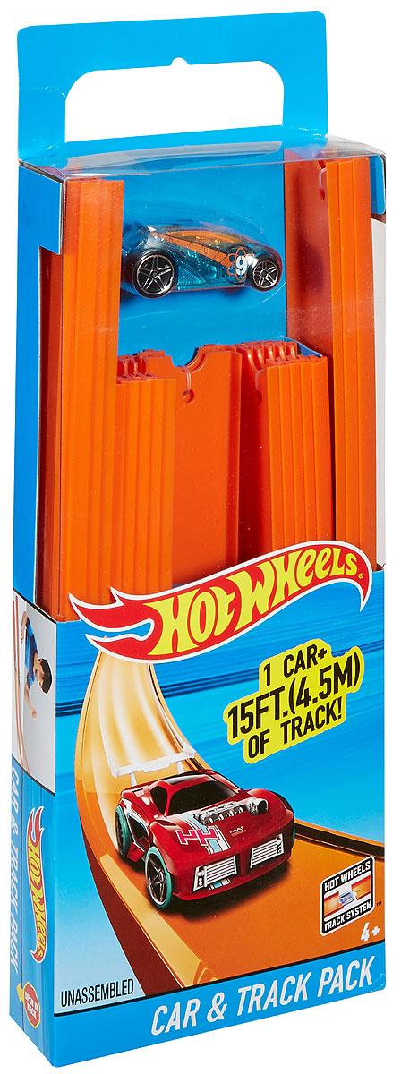 Hot Wheels Игрушечный трек Car & Track Pack BHT77