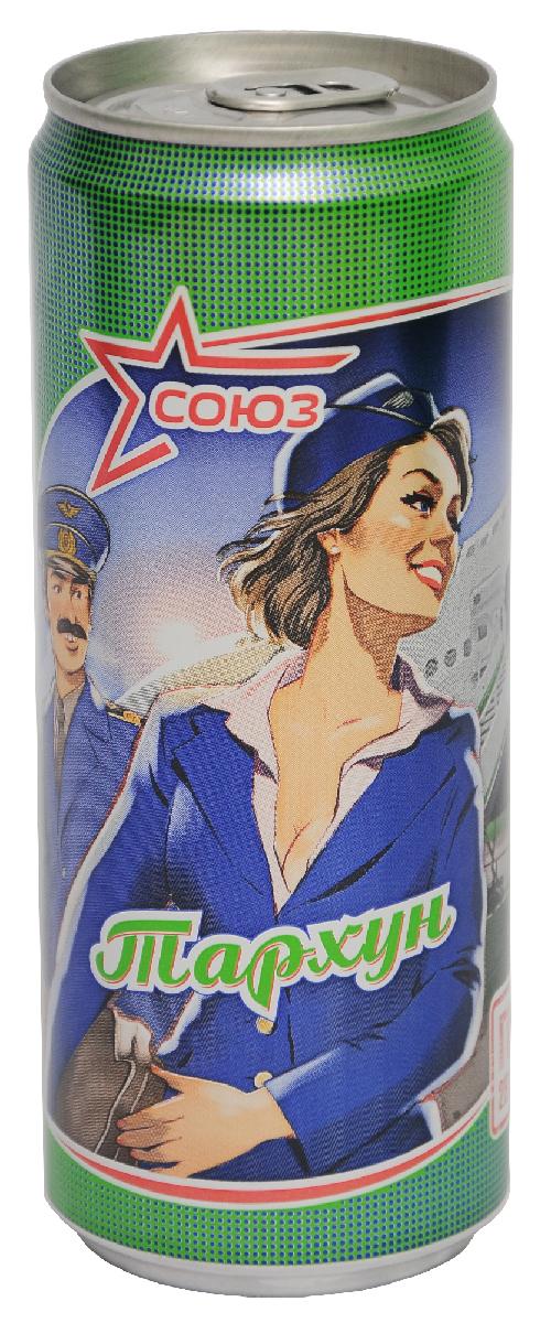Союз Тархун Напиток безалкогольный сильногазированный, 0,33 л00129000000100Напиток Тархун безалкогольный сильногазированный.