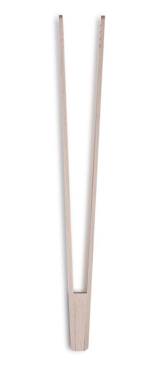 Щипцы кулинарные Zeller, длина 30 см. 2351023510Кулинарные щипцы Zeller, выполненные из дерева, предназначены для комфортных манипуляций с приготавливаемым продуктом. Такими щипцами удобно переворачивать мясо, тефтели, колбаски, рулеты и другие продукты во время приготовления. Длина щипцов: 30 см.