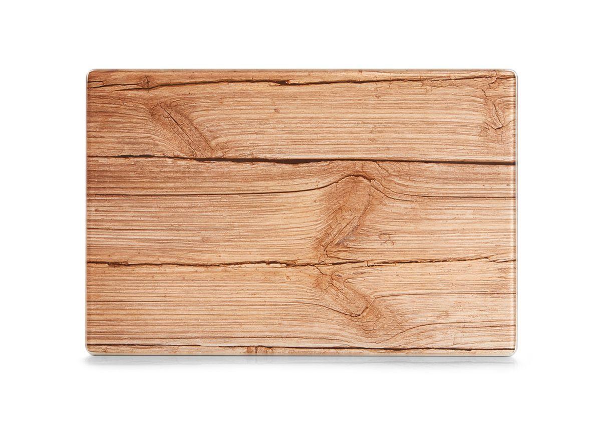 Доска разделочная Zeller, 30 х 20 см. 2627526275Разделочная доска Zeller изготовлена из жароустойчивого стекла. Изделие, украшенное принтом под дерево, идеально впишется в интерьер современной кухни. Изделие отлично чистится и не впитывает посторонние запахи. Также доску можно применять как подставку под горячее блюдо. Доска оснащена резиновыми ножками, предотвращающими скольжение по поверхности стола. Разделочная доска Zeller украсит ваш стол и сбережет его от воздействия высоких температур ваших кулинарных шедевров.