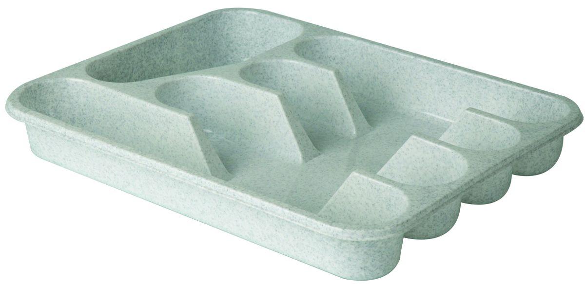 Лоток-вкладыш для столовых приборов Idea, цвет: мраморныйVT-1520(SR)Лоток-вкладыш для столовых приборов Idea - изготовлен из высококачественного пищевого пластика. Он предназначен для выдвигающихся ящиков на кухне. Лоток имеет пять отделений: три отделения для вилок, ложек, ножей, одно маленькое отделение для чайных ложек и десертных вилок, одно большое отделение для остальных приборов.