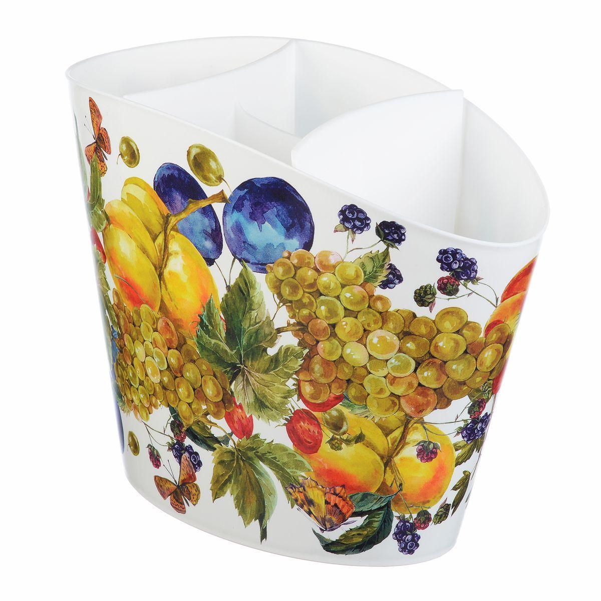 Сушилка для для столовых приборов Idea Деко. ФруктыМ 1167