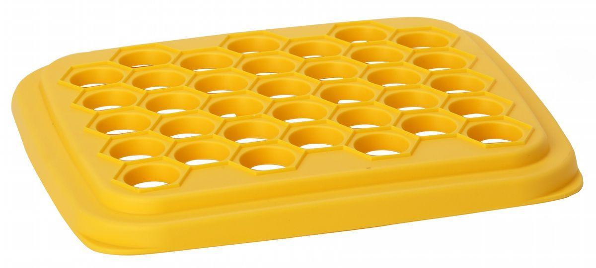 Форма для пельменей Idea, цвет: желтыйМ 1205