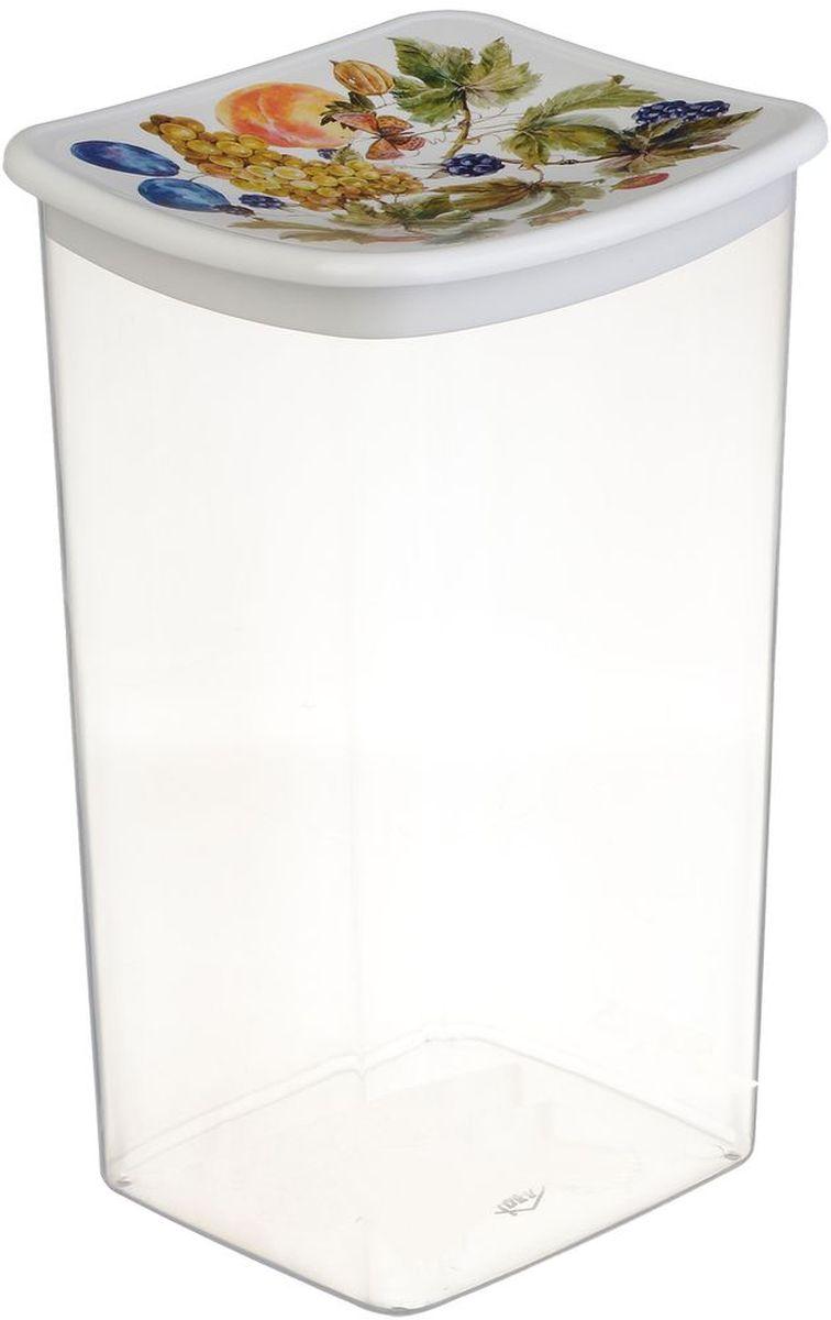 Емкость для сыпучих продуктов Idea Деко. Фрукты, 1,9 лVT-1520(SR)Емкость Idea Деко. Фрукты выполнена из пищевого полипропилена и предназначена для хранения сыпучих продуктов. Не содержит Бисфенол A. Изделие оснащено плотно закрывающейся крышкой, благодаря которой продукты дольше остаются свежими.