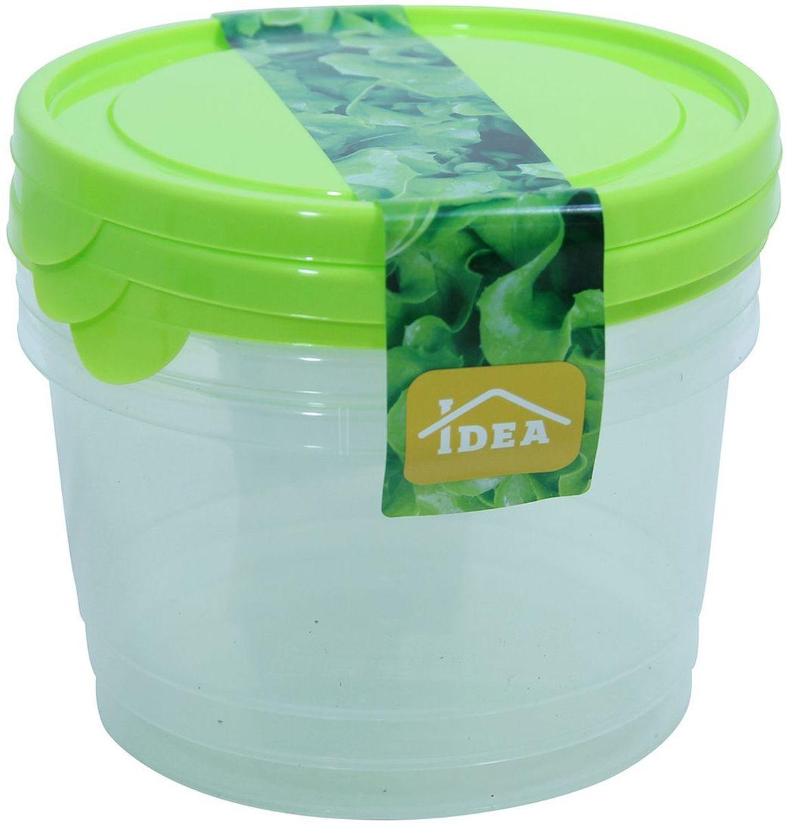 Набор контейнеров Idea, 750 мл, 3 штМ 1441Набор Idea состоит из 3 контейнеров, выполненных из высококачественного пластика. Изделия идеально подходят для хранения различных продуктов. Набор контейнеров Idea можно мыть в посудомоечной машине. Можно использовать в микроволной печи и холодильнике.