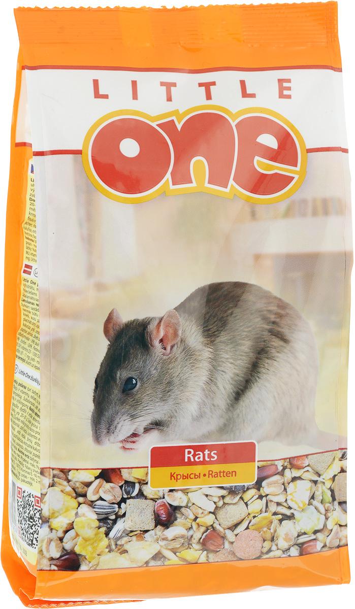 Корм для крыс Little One, 400 г16241Корм для крыс Little One - полноценное питание с добавлением витаминов и минеральных веществ. Разнообразный состав, включающий зерна, семена, плющеные бобовые, воздушные зерна, плоды и фрукты, а также вкусные хрустящие экструдированные кусочки. Без прессованных гранул. Товар сертифицирован.