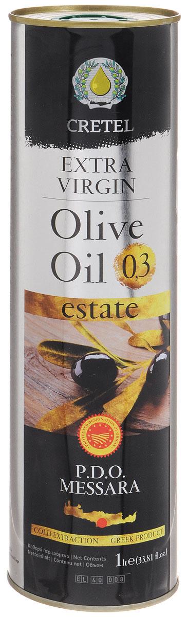 Cretel Extra Virgin масло оливковое P.D.O. Messara, 1 л16012Estate P.D.O. Messara (Protected designation of origin) — это уникальный объект авторского права, который закрепляет за производителем права гарантированный регион производства, несет на упаковке информацию о конкретном районе производства, в нашем случае, в районе Мессара, на острове Крит, Греция. Оливки были выращены, собраны и отжаты в масло полностью в определенном географическом регионе. Весь процесс изготовления этого масла, как говорилось выше, производится на месте сбора сырья. Маркировка дает гарантию потребителю, что масло не является ни в коем случае смесью масел. Один из главных показателей качества оливкового масла – кислотность, в оливковом масле Cretel Extra Virgin она не превышает 0,3%.