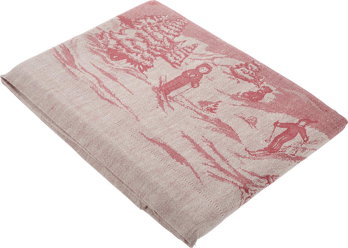 Скатерть Гаврилов-Ямский Лен, прямоугольная, 178 х 200 см. 528796515412Скатерть Гаврилов-Ямский Лен, изготовленная изо 49% льна и 51% хлопка, станет отличным украшением интерьера столовой или кухни и придаст праздничный вид новогоднему столу. Скатерть оформлена красивым новогодним рисунком, обладает плотной текстурой, высокой износостойкостью и прочностью.Лен - поистине уникальный природный материал, который отличается высокой экологичностью. Скатерти из натурального льна придадут вашему дому уют и тепло натурального материала. Хлопок представляет собой натуральное волокно, которое получают из созревших плодов такого растения как хлопчатник. Качество хлопка зависит от длины волокна - чем длиннее волокно, тем ткань лучше и качественней.