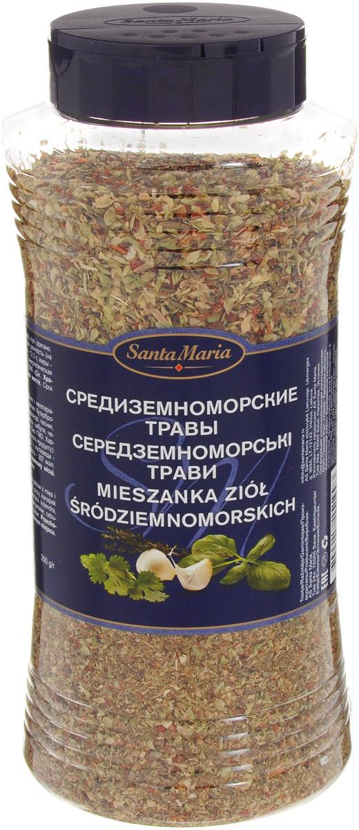 Santa Maria Приправа Средиземноморские травы, 350 г0120710Приправа Santa Средиземноморские травы подходит для мясных, рыбных и вегетарианских блюд, салатов, блюд из морепродуктов, пиццы, горячих бутербродов.Уважаемые клиенты! Обращаем ваше внимание, что полный перечень состава продукта представлен на дополнительном изображении.