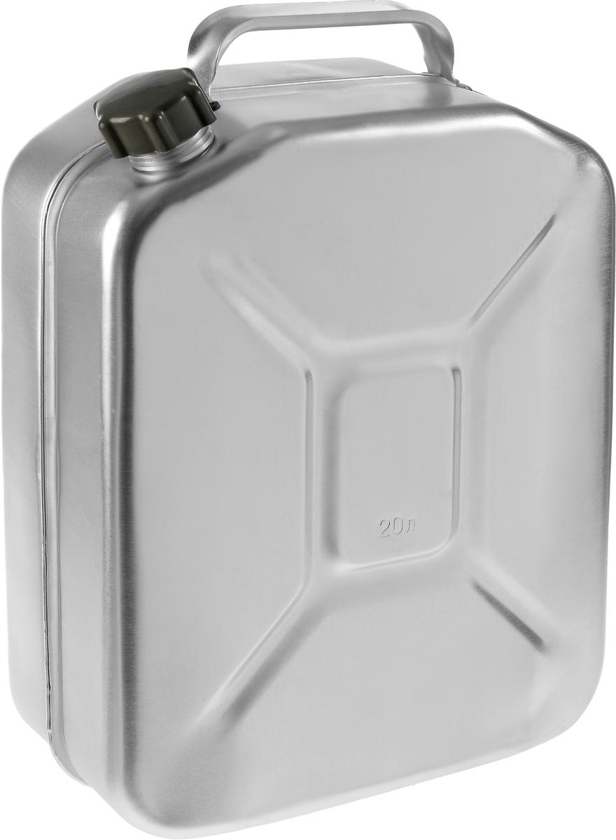 Канистра Scovo, 20 лМТ-031Канистра Scovo, выполненная из высококачественного алюминия, предназначена для хранения горюче-смазочного материала. Для герметичного закрытия канистры предусмотрена винтовая крышка из пластика. Канистра не ржавеет и имеет небольшой вес, крестообразная штамповка по бокам придает канистре дополнительную жесткость. Объем: 20 литров. Размер: 48 х 34 х 16,5 см.