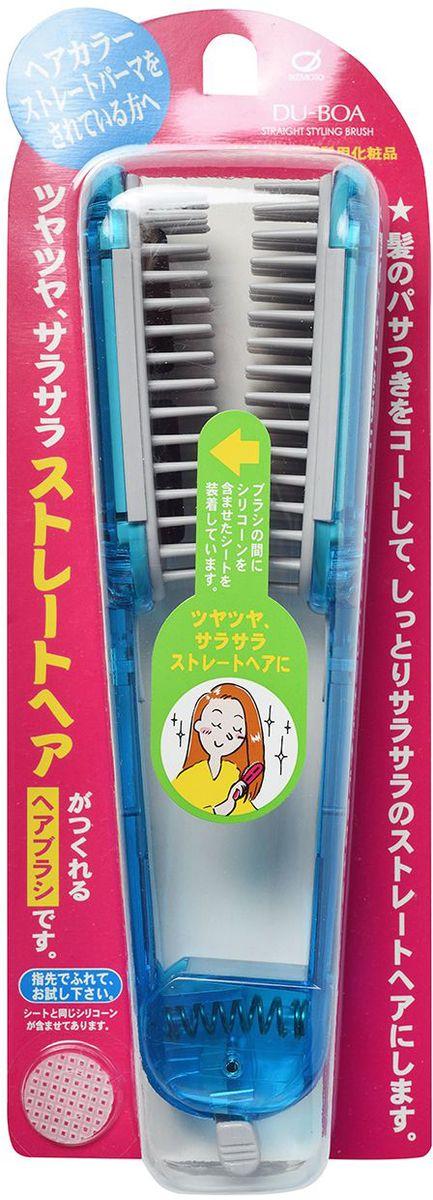 Ikemoto Щетка для выпрямления волос, цвет: голубой11057imС помощью щетки для выпрямления волос Вы сможете сделать укладку, не выходя из дома. Щётка имеет пластины, в состав которых входит силикон, который создает защитную пленку на волосах, склеивает расщепленные секущиеся кончики, облегчают расчесывание и укладку, придает волосам гладкость и привлекательный блеск. Расчешите влажные волосы, отделите тонкую прядь волос и вытяните ее от корней до кончиков, пропуская между пластинами щетки, одновременно высушивая феном. Повторите для остальных прядей. Во время сушки тёплый воздух, проходя через вентиляционные отверстия в центре щетки, улучшит выпрямление. Волосы быстрее высыхают, не повреждаются при прижимании пластин и становятся гладкими и прямыми. Внимание при применении: Не используйте при повреждениях кожи головы. При появлении каких-либо реакций на коже головы прекратите применение и обратитесь к врачу-дерматологу. Не используйте в других целях. При длительном непосредственном воздействии на щётку высоких температур во время...