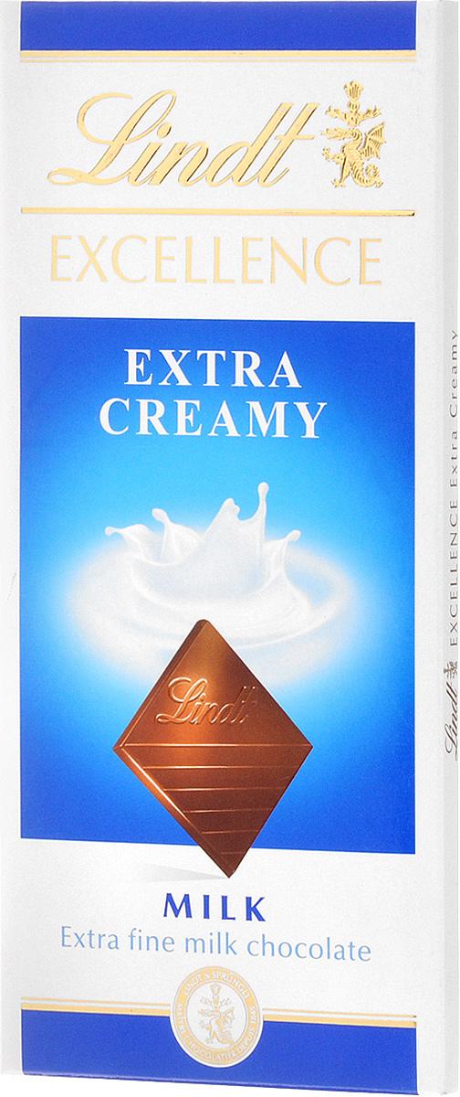 Lindt Excellence молочный шоколад, 100 г0120710Шоколад Lindt - это непревзойденное качество, головокружительный мир неповторимых вкусов и только проверенные, экологически чистые ингредиенты. Шоколад создается только из тщательно отобранных какао-бобов, которые знамениты своим особенно чистым и богатым вкусом.Уважаемые клиенты! Обращаем ваше внимание, что полный перечень состава продукта представлен на дополнительном изображении.