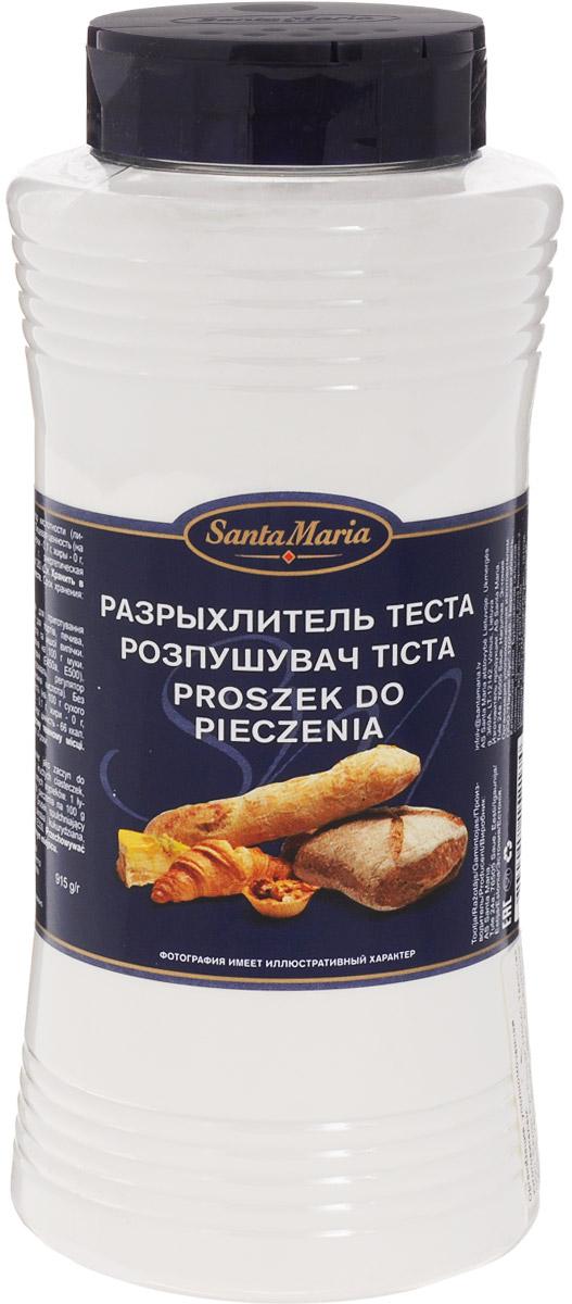 Santa Maria Разрыхлитель теста, 915 г15217Разрыхлитель теста Santa Maria подходит для пирожных, тортов, печенья, рассыпчатого теста и другой выпечки. Уважаемые клиенты! Обращаем ваше внимание, что полный перечень состава продукта представлен на дополнительном изображении.