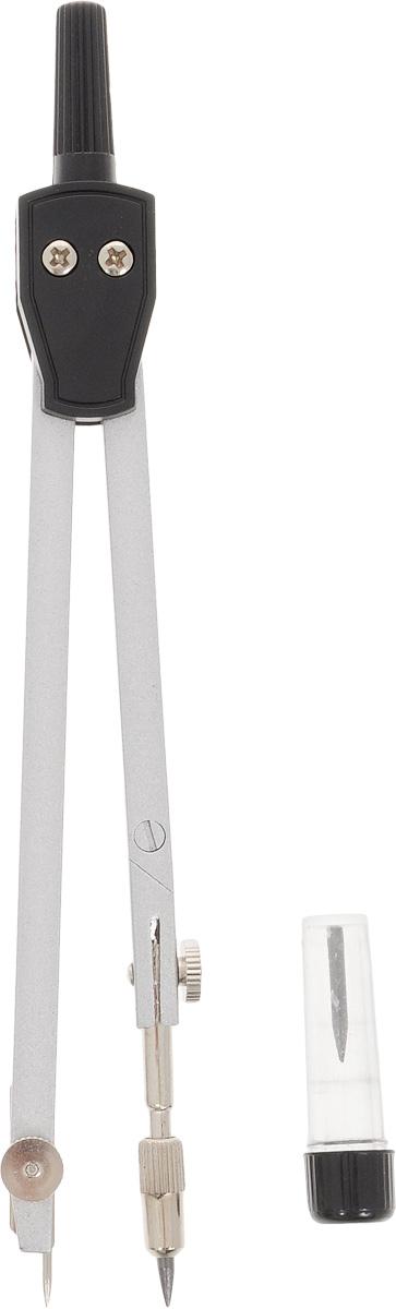 Perfecta Готовальня Studio 2 предмета SG.2*FS-36054Готовальня Perfecta Studio состоит из металлического циркуля с пластиковым держателем и рейсфедером, коленным соединением и подстраиваемой иглой. Благодаря высокому качеству материалов и сборки, надежные чертежные инструменты Perfecta прослужат вам много лет. Отличный выбор и для учащихся, и для профессионалов. Предметы упакованы в пластиковый футляр с прозрачной крышкой.