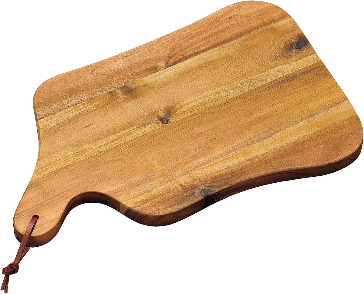 Доска разделочная Kesper, 35 х 22 х 1,8 см. 2860-02860-0Доска изготовлена из экологически чистого материала, дерево акация. Отлично подходит для нарезки пищи. Обладает высокой износостойкостью. Доска имеет удобную ручку.