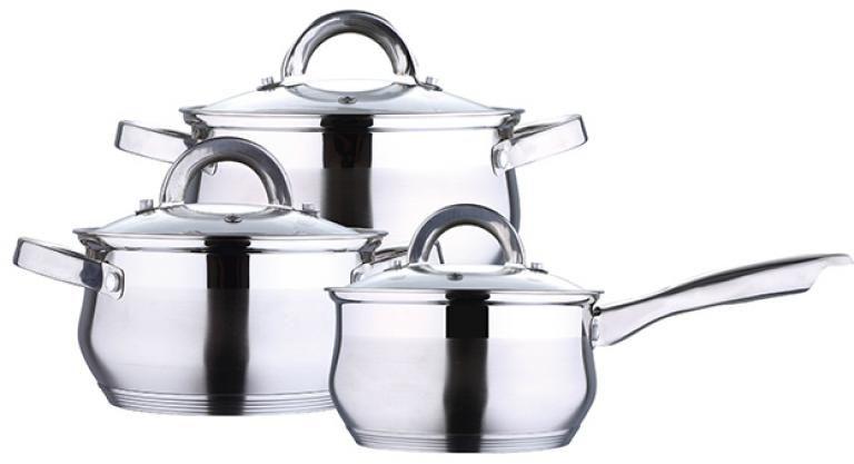 Набор посуды Wellberg, 6 предметов1422 WBНабор посуды Wellberg, 6 предметов