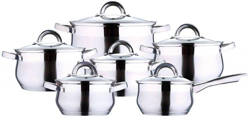 Набор посуды Wellberg, 12 предметов1424 WBНабор посуды Wellberg, 12 предметов