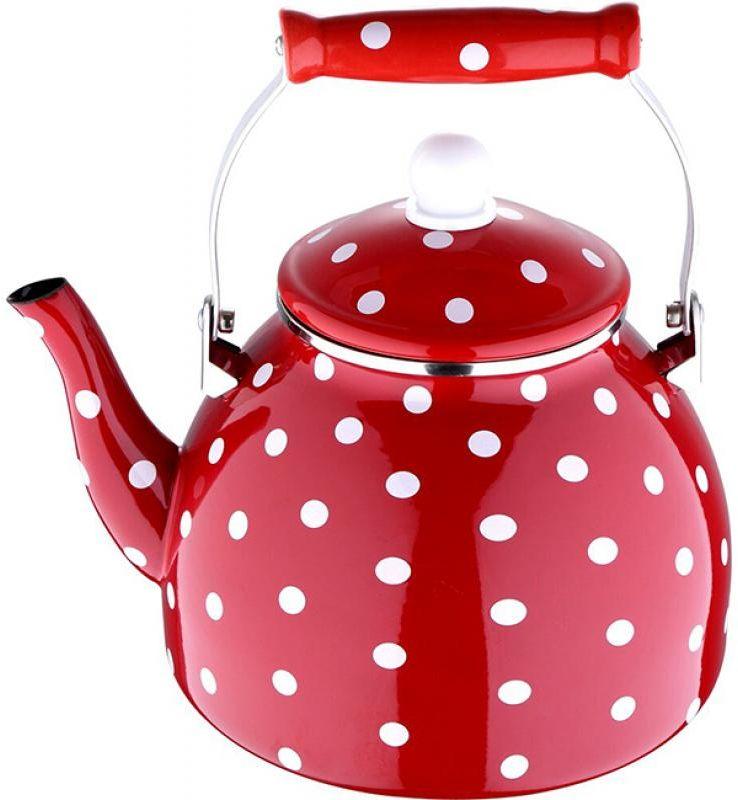 Чайник эмалированный Wellberg, 4 л. 3482 WB3482 WBЧайник эмалированный Wellberg, 4 л. 3482 WB