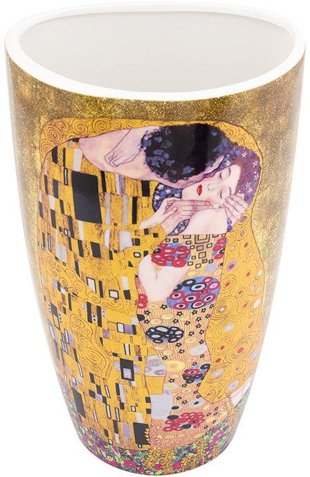Ваза Elan Gallery Поцелуй, высота 22,5 смFS-91909Декоративная ваза станет прекрасным дополнением любого интерьера. В такой вазе любой, даже самый скромный букет будет выглядеть замечательно!Размер вазы: 13 х 10 х 22,5 см. Объем вазы: 1,5 л.