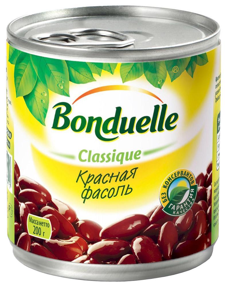 Bonduelle красная фасоль, 200 г0120710Красная фасоль Bonduelle приготовлена по классической технологии в оригинальной пряной заливке с добавлением паприки, белого перца и чеснока.Уважаемые клиенты! Обращаем ваше внимание, что полный перечень состава продукта представлен на дополнительном изображении.