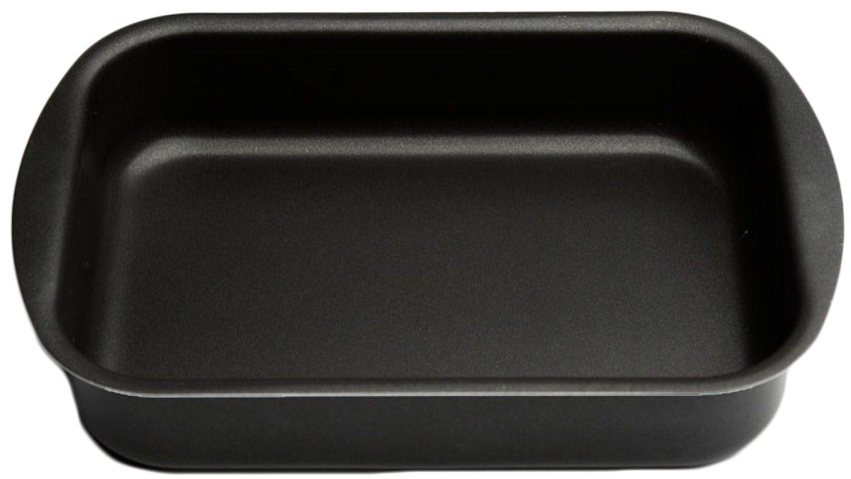 Противень Helper Comfort, с антипригарным покрытием, цвет: черный, 340х240 ммCF2340Противень изготовлен из штампованного алюминия .Благодаря удачному сочетанию функциональных свойств противень позволяет готовить низкокалорийную пищу за счет использования минимального количества жиров. Он выполнен из алюминия, обладающего большой износостойкостью и надежностью, и не содержащего вредных для организма веществ (PFOA, кадмий, свинец). Внутреннее покрытие противня - Skandia.Технология антипригарного покрытия способствует оптимальному распределению тепла. Противень легко чистить и мыть. Технология антипригарного покрытия способствует оптимальному распределению тепла. Противень легко чистить и мыть. Подходит для использования в духовом шкафу, а также для мытья в посудомоечной машине.