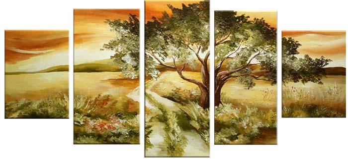 Картина Арт78 Степь, модульная, 90 х 50 см. арт780063-3арт780063-3Ничто так не облагораживает интерьер, как хорошая картина. Особенную атмосферу создаст крупное художественное полотно, размеры которого более метра. Подобные произведения искусства, выполненные в традиционной технике (холст, масляные краски), чрезвычайно капризны: требуют сложного ухода, регулярной реставрации, особого микроклимата – поэтому они просто не могут существовать в условиях обычной городской квартиры или загородного коттеджа, и требуют больших затрат. Данное полотно идеально приспособлено для создания изысканной обстановки именно у Вас. Это полотно создано с использованием как традиционных натуральных материалов (холст, подрамник - сосна), так и материалов нового поколения – краски, фактурный гель (придающий картине внешний вид масляной живописи, и защищающий ее от внешнего воздействия). Благодаря такой композиции, картина выглядит абсолютно естественно, и отличить ее от традиционной техники может только специалист. Но при этом изображение отлично...