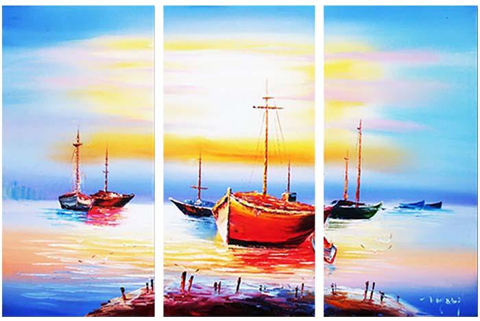 Картина Арт78 Залив, модульная, 80 х 60 см. арт780088-3арт780088-3Ничто так не облагораживает интерьер, как хорошая картина. Особенную атмосферу создаст крупное художественное полотно, размеры которого более метра. Подобные произведения искусства, выполненные в традиционной технике (холст, масляные краски), чрезвычайно капризны: требуют сложного ухода, регулярной реставрации, особого микроклимата – поэтому они просто не могут существовать в условиях обычной городской квартиры или загородного коттеджа, и требуют больших затрат. Данное полотно идеально приспособлено для создания изысканной обстановки именно у Вас. Это полотно создано с использованием как традиционных натуральных материалов (холст, подрамник - сосна), так и материалов нового поколения – краски, фактурный гель (придающий картине внешний вид масляной живописи, и защищающий ее от внешнего воздействия). Благодаря такой композиции, картина выглядит абсолютно естественно, и отличить ее от традиционной техники может только специалист. Но при этом изображение отлично...