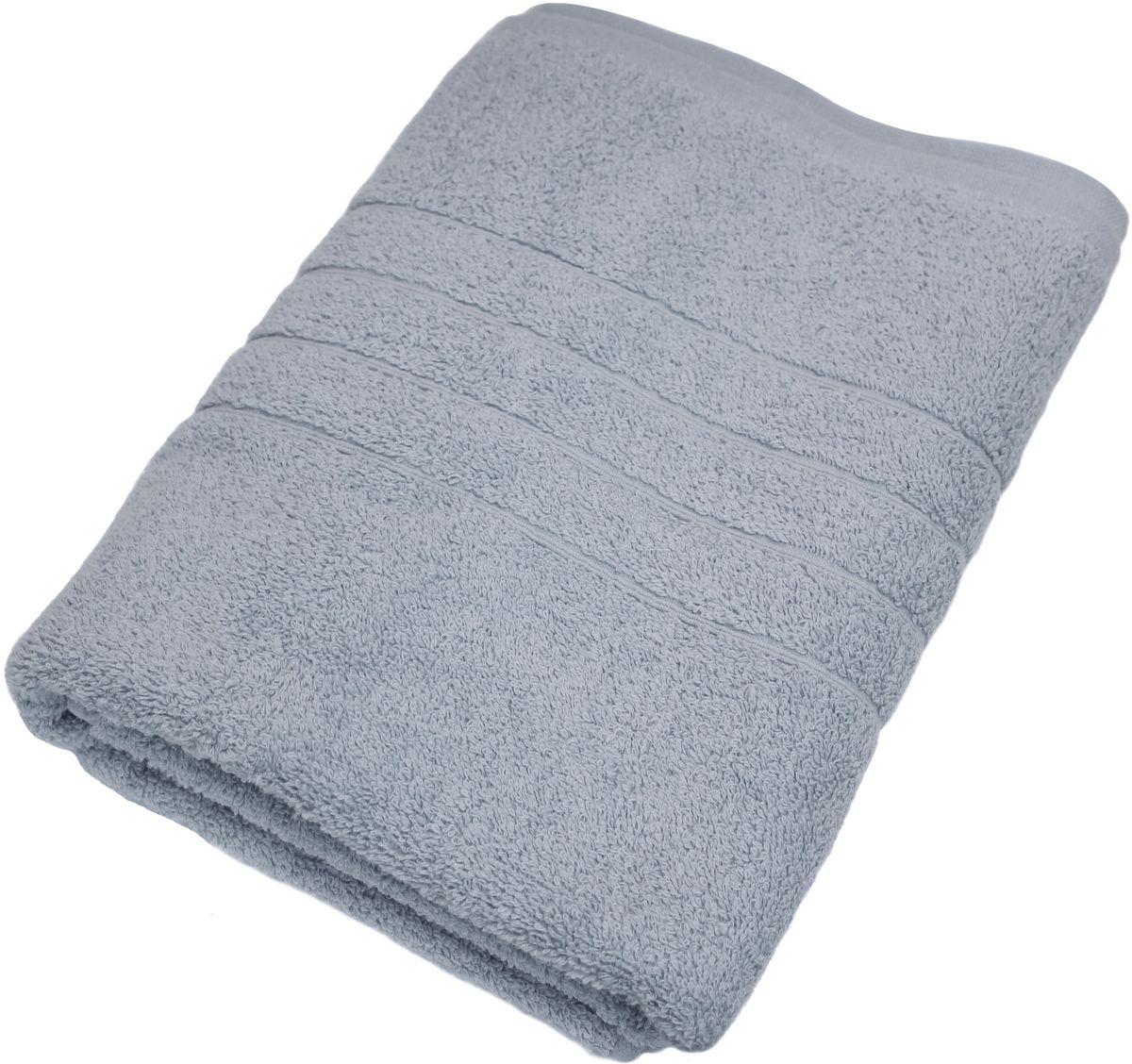 Полотенце Proffi Home Модерн, цвет: серый, 70x140 смPH3273Состав: 100% хлопок.