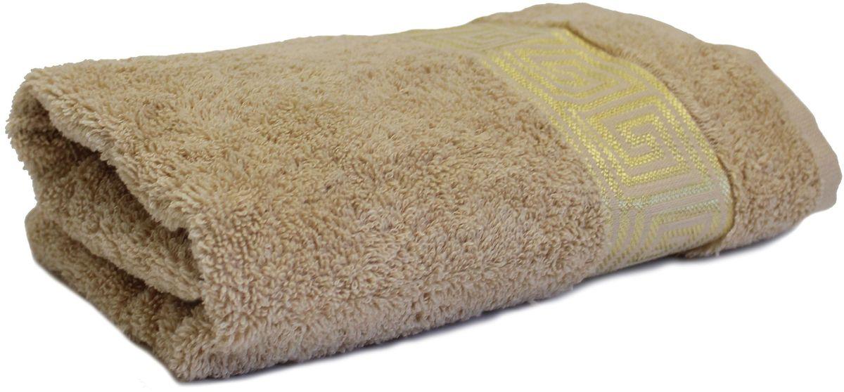 Полотенце Proffi Home Классик, цвет: бежевый, 50x100 смPH3285Состав: 100% хлопок.