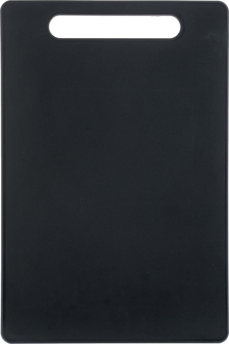 Доска разделочная Kesper, 30 х 20 х 0,8 см94672Доска разделочная Kesper выполнена из качественного пищевого пластика. Прочная структура пластика устойчива к механическим повреждениям, высоким температурам и износу. Доска легко моется, не впитывает запахи и влагу, не растрескивается. Изделие снабжено удобной ручкой. Прекрасно подходит для нарезки любых продуктов.Такая доска понравится любой хозяйке и будет отличным помощником на кухне. Можно мыть в посудомоечной машине.