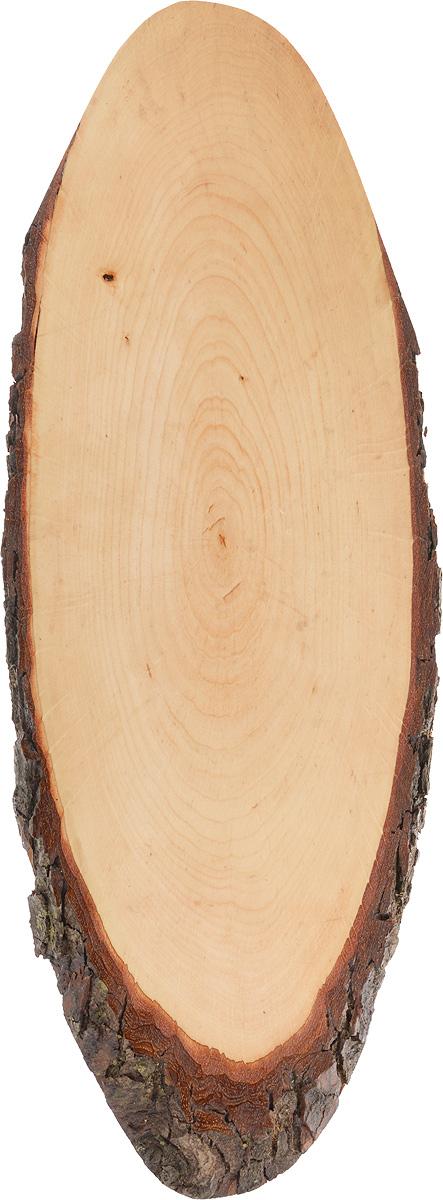 Доска сервировочная Kesper, 48 х 17 х 1,5 см6120-1Доска сервировочная Kesper выполнена из натурального, экологически чистого материала (массива бука) в виде среза дерева. Специальная обработка обеспечивает прочность и долгий срок службы. Изделие имеет нестандартную форму, обладает высокими антибактериальными свойствами, имеет приятный древесный аромат. Доска идеально подойдет для красивой подачи ваших кулинарных шедевров. Ее размер и форма позволяют подавать мясные блюда, нарезки, холодные или горячие закуски, идеальный вариант для суши. Эта доска станет настоящим украшением и изюминкой вашей кухни. Не рекомендуется мыть в посудомоечной машине.