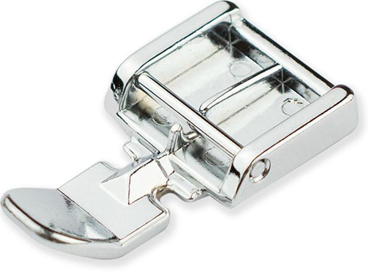 Лапка для швейной машины Aurora, для вшивания молнии9829С помощью этой лапки можно вшить молнию с любой стороны. Край лапки направляет молнию, для правильного расположения. Подходит к большинству швейных машин, таких как Aurora, Brother, Janome и других