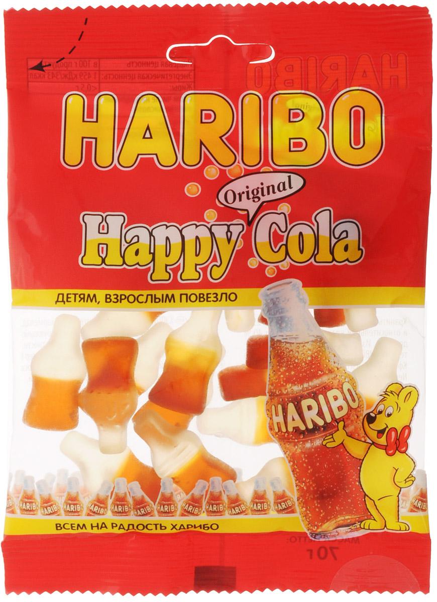 Haribo Happy Cola жевательный мармелад, 70 г